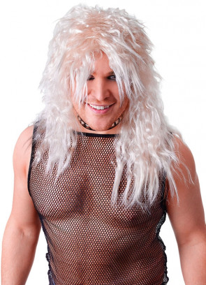 Rock Star Wig Blonde