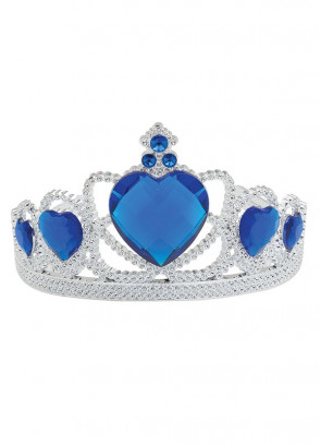 Royalty Tiara - Blue Heart Stone