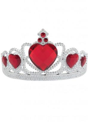Storybook Royalty Tiara - Red Heart Stone