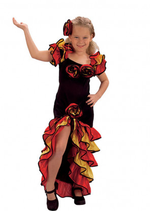 Rumba Girl Costume - Spanish