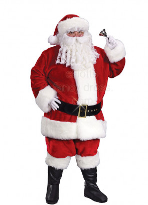 Professional Quality XL Santa Suit
