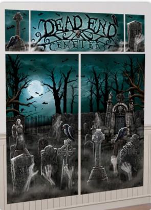 Scary Cemetery Scene Setter