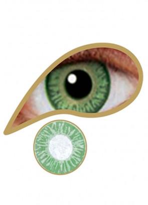 Sea Green Coloured Contact Lenses - 30 Day Wear