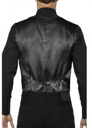 Sequin Waistcoat - Black