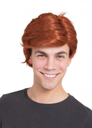 Side Parting Ginger Wig