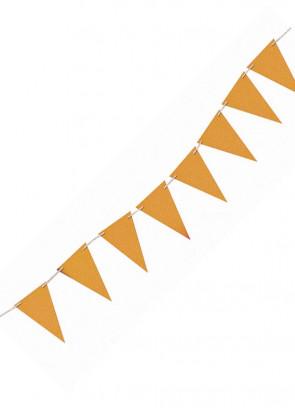 Gold Glitter Banner Bunting 8ft Long