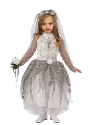 Girls Skeleton Bride