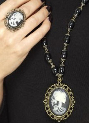 Day of the Dead Skeleton Cameo Set