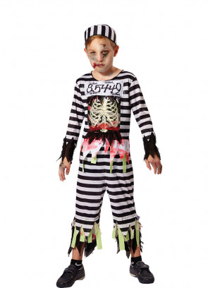 Zombie Skeleton Prisoner - Boys