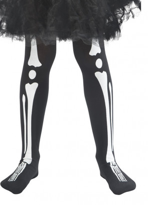 Kids Skeleton Tights - Age 4-7