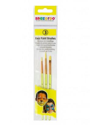 Snazaroo Face Paint Brushes