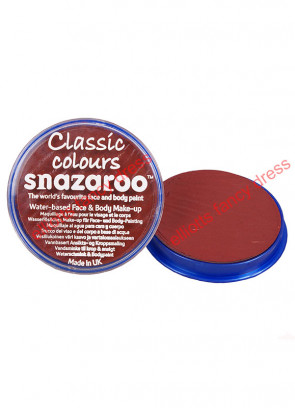 Snazaroo Burgundy Face Paint 18ml