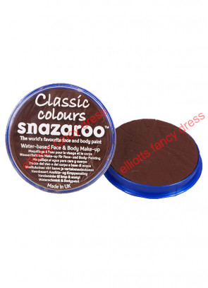 Snazaroo Dark Brown Face Paint 18ml