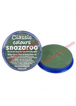 Snazaroo Grass Green Face Paint - Classic 18ml