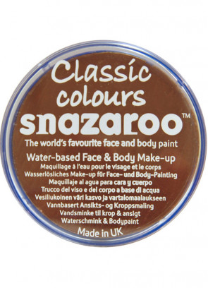 Snazaroo Light Brown Face Paint 75ml