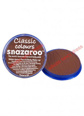 Snazaroo Light Brown Face Paint 18ml