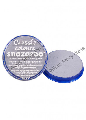 Snazaroo Light Grey Face Paint - Classic 18ml