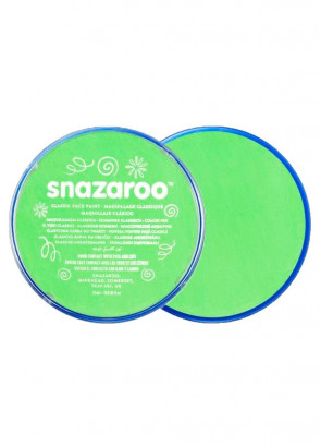 Snazaroo Lime Green Face Paint - Classic 18ml
