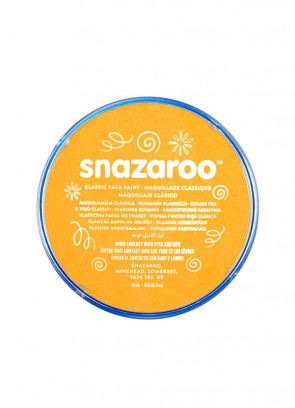 Snazaroo Ochre Yellow Face Paint - Classic 18ml