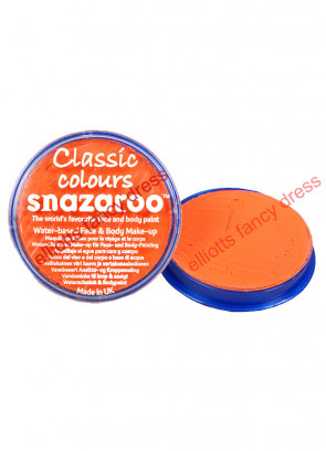 Snazaroo Orange Face Paint 18ml