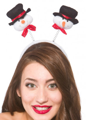 Snowman Boppers - Headband