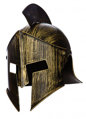 Spartan Helmet with crest