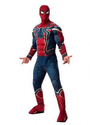 Spider-Man – Iron Spider – Marvel – Infinity War – Mens Costume