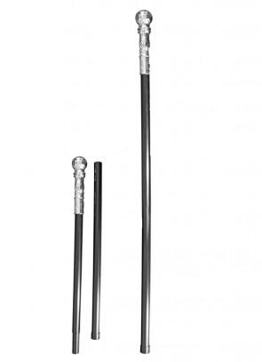 Silver Ball Split Cane