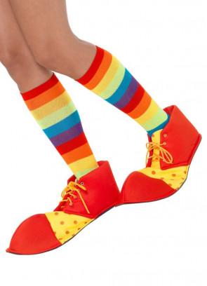Spotty Clown Shoe Covers