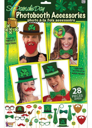 St. Patrick's Day Photo Booth Props – 18 pieces