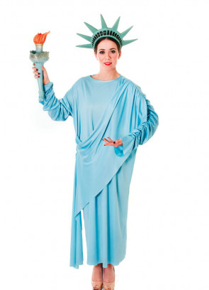 Statue of Liberty (USA) Costume - Plus Torch