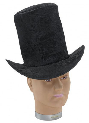 Stovepipe Top Hat Velvet