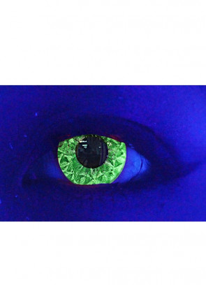 Suly Green Glitter UV Contact Lenses - 30 Day Wear