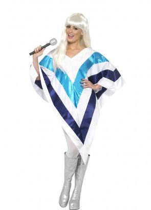 Super Trooper Poncho - Abba Costume