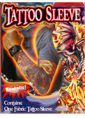 Tattoo Sleeve (Fire Breathing Dragon)