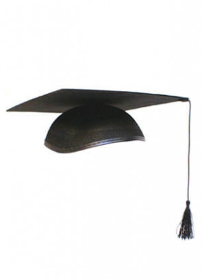 Graduation Mortar Board - V-Cut Cap