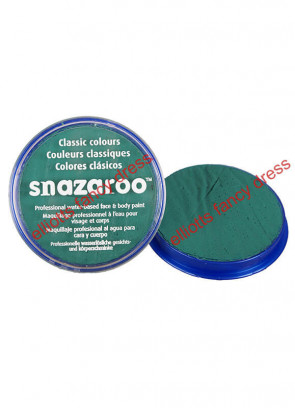 Snazaroo Teal Green Face Paint 18ml