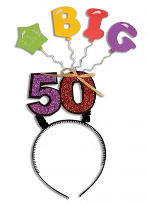 Birthday Headband – The Big 50!
