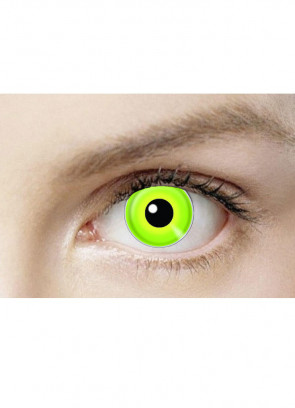 Hulk / Maleficent Green Contact Lenses - One Day Wear