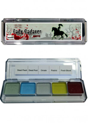 The Ultimate Lady Cadaver Palette (Alcohol Activated)