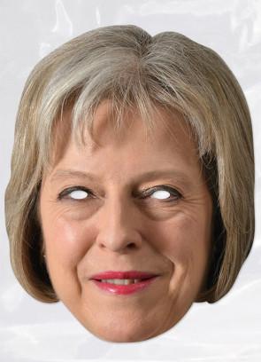Theresa May Card Face Mask