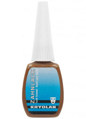 Kryolan Brown Tooth Enamel 12ml
