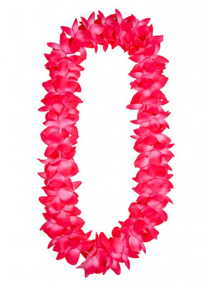 Hawaiian Two Tone Pink Orchid Lei