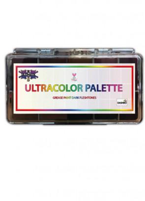 Ultracolour Darktones Greasepaint Palette