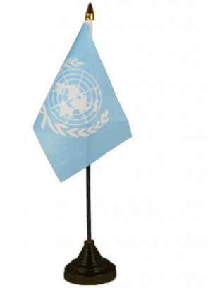United Nations Table Flag
