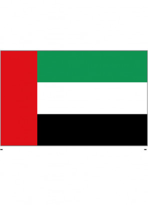 United Arab Emirates Flag 5x3