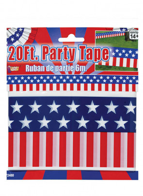United States - USA 20ft Party Tape