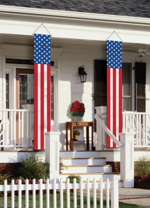 United states - USA long Vertical Decoration Flags