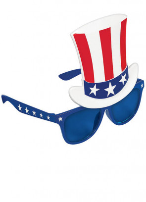 USA Top Hat Glasses