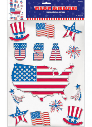 USA Window Stickers
